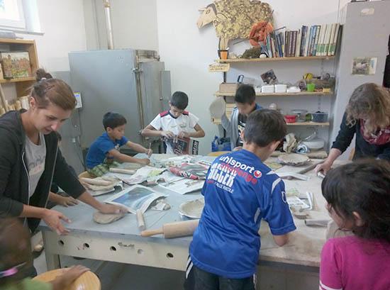 Arbeit mit Kindern